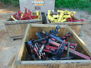 Sumner Beam Max Jack Rolling Castor Pipe Stand Welding Clamp Lot Of 20 Parts +++