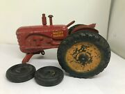 Antique Lincoln Massey-harris Toy Tractor - Canada