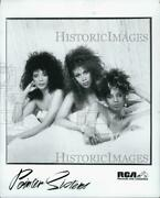 Press Photo Rca Records Present The Point Sisters