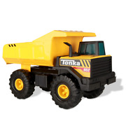 Steel Classics Mighty Dump Truck Tonka Tough W/ Real Steel Kids 4 Years And Up