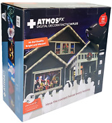 Atmosfx Digital Decorating Kit Plus Projector Christmas Holiday Images Home Deco
