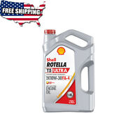 1-gallon Single Shell Rotella T5 Ultra Synthetic Blend 10w-30 Diesel Engin...