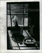 Large 1969 Press Photo Collection Of Antique Hand Blown Bottles In Local Shops