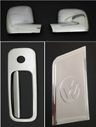 Vw T5 Transporter 03-2010 Mirror Coversrhd And Rear Door Handle Andfuel Tank Cover