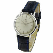 Omega Vintage Mid Size Stainless Steel Mechanical Wristwatch Dating Circa 1964