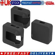 3pcs Silicone Protective Case For Rode Wireless Go Ii Microphone Black