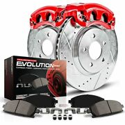 Kc2983a Powerstop 2-wheel Set Brake Disc And Caliper Kits Front For Pontiac G5