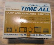 Vintage Intermatic Time-all 24 Hour Lamp/appliance Timer Model E-911