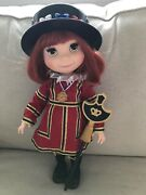 Disney Animators Collection Its A Small World Singing England Doll