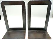 Gorgeous Roycroft Arts And Crafts Hammered Copper Set Of Bookends 8.75t Die Stamp