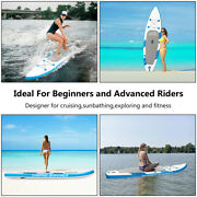 11ft Inflatable Stand Up Paddle Board Sup Surfboard 6and039and039 Thickwith Complete Set