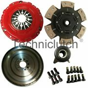 Smf Flywheel And 6 Paddle Clutch Kit For Ford Focus Hatchback 2.5 St