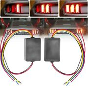 Car Turn Signal Lights 3-step Sequential Chase Flash Module Boxes Controller
