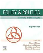 Policy And Politics In Nursing And Health Care Mason Diana J. Paperback