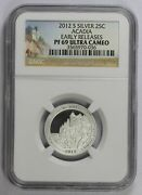 America The Beautiful Quarter 2012 S Ngc Pf-69 Ultra Cameo Acadia Early Release