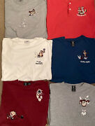 Rare Lot Of Six Vintage 93-98 Official Loony Tunes Bowling Pocket T-shirts. M-l