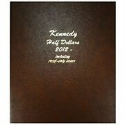 Dansco Album 8167 Kennedy Half Dollar 2012-2016 Pds With Proof-only Book 50 Cent