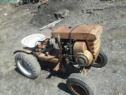 Andnbspvintage Bolens Gardenandnbsp Tractor With A Mower Deck And Snow Blower. Runs And Driv