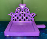 My Little Pony G4 Crystal Castle Wedding Set Chair Swing Replacement Piece Part