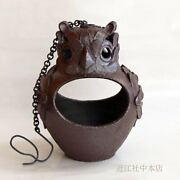 Pottery Lanterns Vintage Owl Japanese Antiques And Collectibles Interior