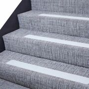 Anti-slip Stair Tread Tape Strips With Roller 32 X 4 In, 15 Pieces