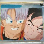 Dragon Ball Z Original Cel Picture Movie Drawing Record