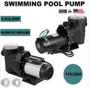 1.5/2.5hp In/above Ground Swimming Pool Pump Motor Hayward W/ Strainer 115-230v