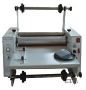 15andlsquoandrsquo Steel Roller Thermal Laminator Single Double Sides Hot Cold Laminating 110v