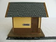 Vintage Pola Lgb G Scale Silverton Restroom Outhouse Shed Building 330885 Ex