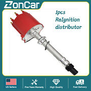 New Ignition Distributor For Chevy Gm 350 5.7l Efi Tbi Tpi Vortec 5.0l Red Cap
