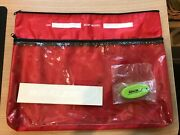 Boston Whaler Oem Owners Manual Bag - Red Plus Key Chain And Sticker