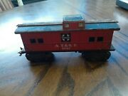 Marx Train A.t. And S.f. 1951 Caboose