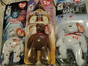 Ty Retired Original Beanie Babies Rare Never Opened Mint Condition And Tag Errors