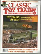 Classic Toy Trains July 1994 Lionel Gets Drafted Lionel Production 1942-1945