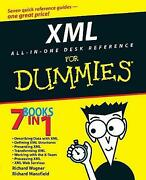 Xml Alland8211inand8211one Desk Reference For Dummies Richard Wagner Paperbac