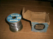 Kester Solid 60/40 Solder Roll Almost 5lbs