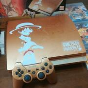 Sony Playstation 3 One Piece Console Ps3 System Pirate Musou Gold Edition Japan