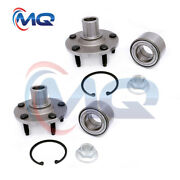 2 Front Wheel Bearings Hub And Kits For Ford Escape Mercury Mariner Mazda Tribute