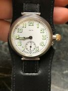Longines For Jayand039s Of Regent St. Officers Military Borgel Trench Watch 1916 Ww1