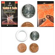 Real Us Half Scotch And Soda-worlds Best Magic Coin Trick - Centavo And 2 Books