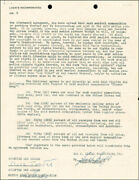 Cole Porter - Document Signed 06/10/1957 Co-signed By Sol C. Siegel