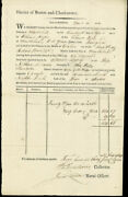 Henry Dearborn - Document Signed 12/10/1810 Co-signed By James Lovell