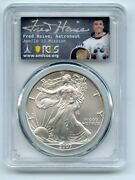 2007 1 American Silver Eagle Pcgs Ms70 Fred Haise