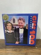 Bill And Hillary Clinton Puzzle Arkansas Gothic 100 Pc Sealed