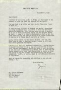 Irving Berlin - Typed Letter Signed 09/07/1948