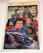 Cgc Ss Fox Seth Mcfarlane The Orville Cast Signed X11 Poster Adrianne Palicki ++