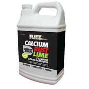 Flitz Instant Calcium Rust And Lime Remover - Gallon Refill Cr 01610