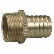 Perko 2 Pipe To Hose Adapter Straight Bronze Made In The Usa 0076009plb