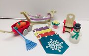 1996 Vintage Fisher Price Loving Family Dream Dollhouse Seasonal Collection