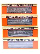 O Gauge 3 Rail Lionel New York Central Set Of 4 's 6-16087 88 89 90 Lc29